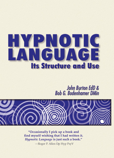 Hypnotic Language - Its structure and use - cover