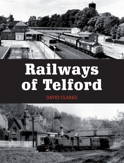Railways of Telford - cover