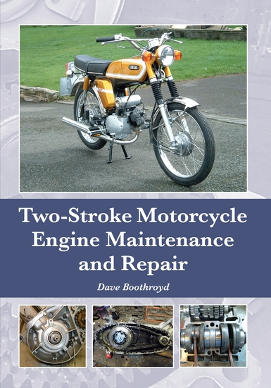 Two-Stroke Motorcycle Engine Maintenance and Repair - cover