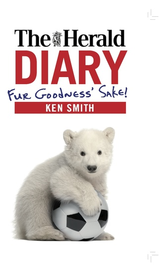 The Herald Diary - Fur Goodness' Sake! - cover