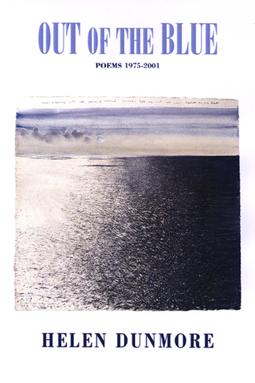 Out of the Blue - Poems 1975-2001 - cover