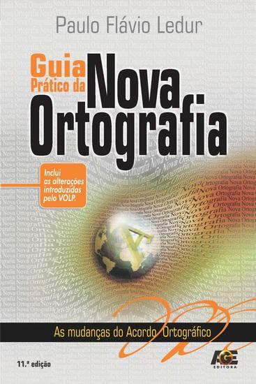 Guia Prático da Nova Ortografia - cover
