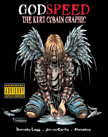 Godspeed: The Kurt Cobain Graphic Novel - cover