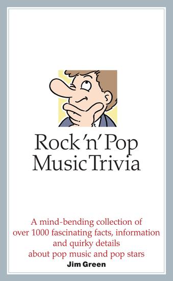 Rock 'n' Pop Music Trivia - cover