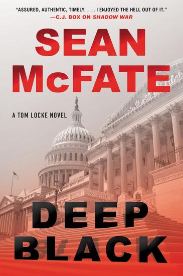 Deep Black - A Tom Locke Novel - cover