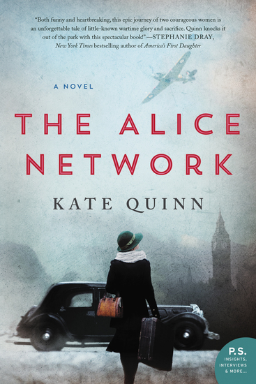 The Alice Network - A Novel - cover