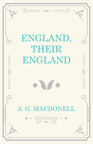 England Their England - cover