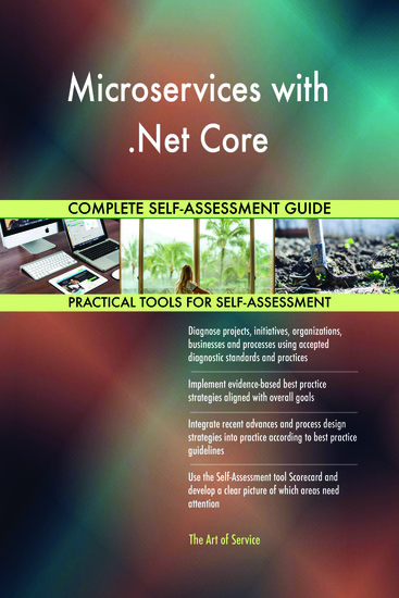 Microservices with Net Core Complete Self-Assessment Guide - cover
