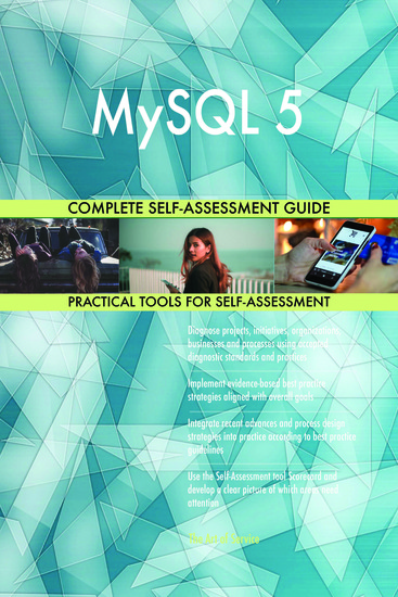 MySQL 5 Complete Self-Assessment Guide - cover