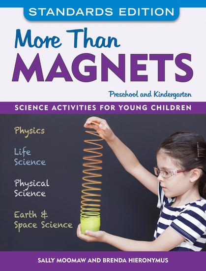 More than Magnets Standards Edition - Science Activities for Preschool and Kindergarten - cover
