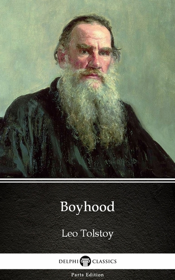 Boyhood by Leo Tolstoy (Illustrated) - cover