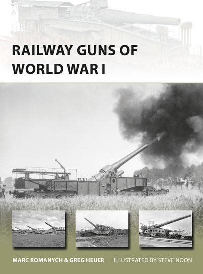 Railway Guns of World War I - cover