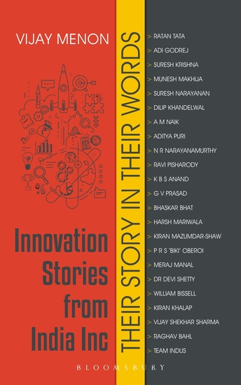 Innovation Stories from India Inc - Their Story in Their Words - cover