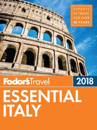 Fodor's Essential Italy 2018 - cover