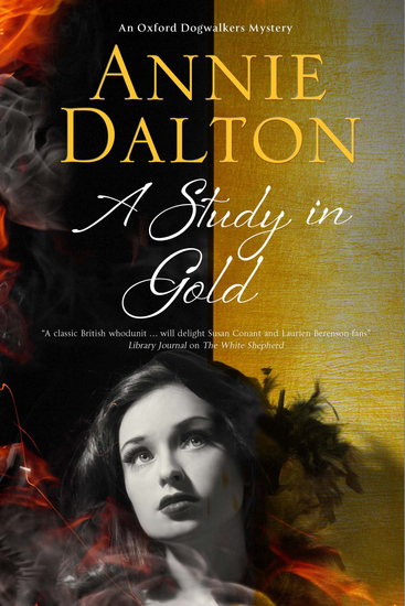 Study in Gold A - A contemporary British mystery set in Oxford - cover