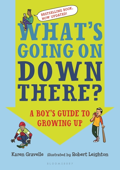 What's Going on Down There? - A Boy's Guide to Growing Up - cover