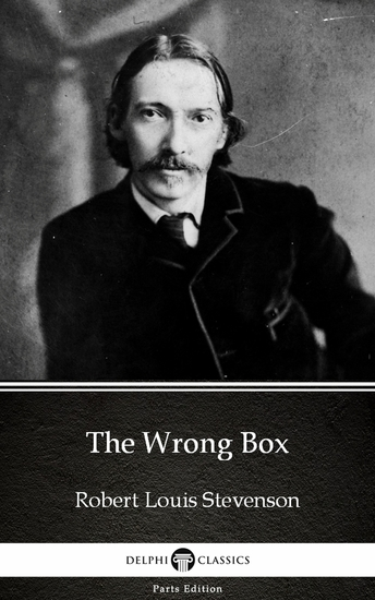 The Wrong Box by Robert Louis Stevenson (Illustrated) - cover