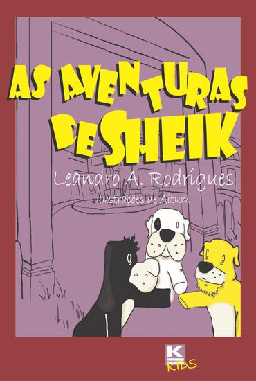 As Aventuras de Sheik - cover