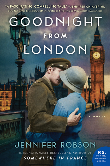 Goodnight from London - A Novel - cover