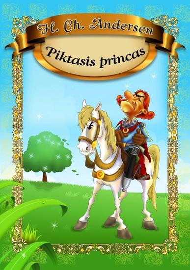 Piktasis princas - cover