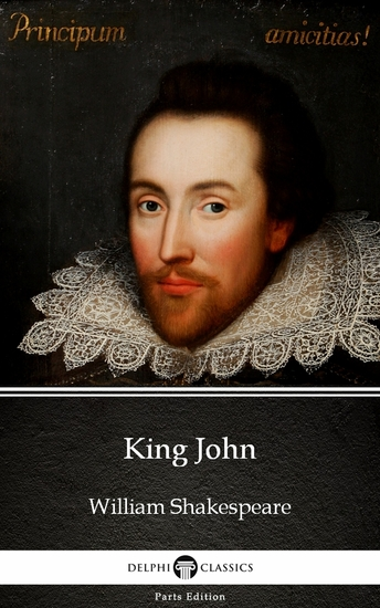 King John by William Shakespeare (Illustrated) - cover