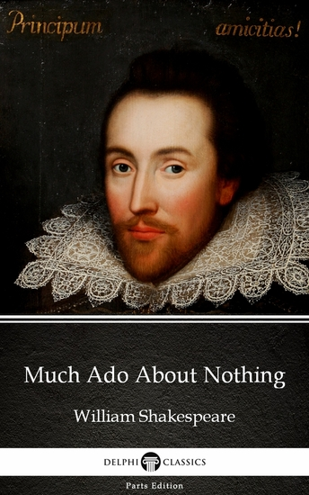 Much Ado About Nothing by William Shakespeare (Illustrated) - cover