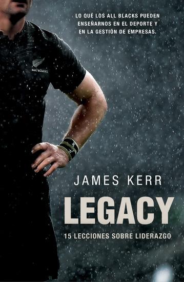 Legacy - 15 lecciones sobre liderazgo - cover