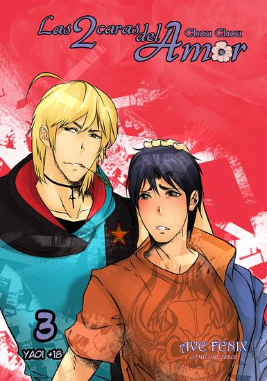 Las 2 caras del Amor Nº3 - Manga Yaoi - cover