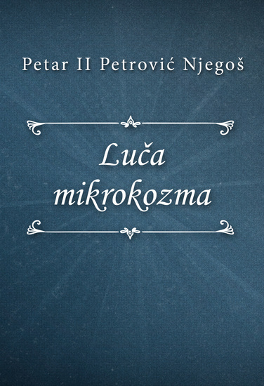 Luča mikrokozma - cover