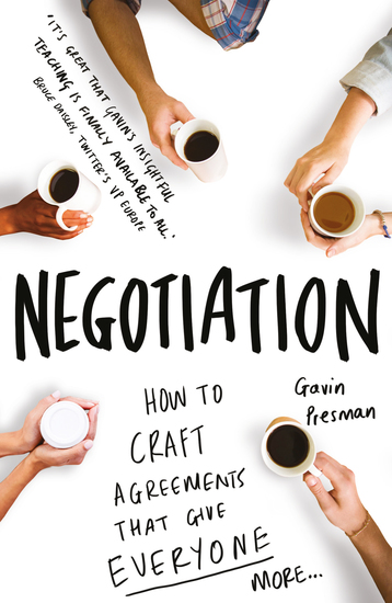 A Practical Guide to Negotiation - Create Winning Agreements - cover