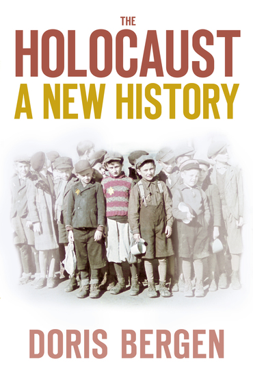 The Holocaust - A New History - cover