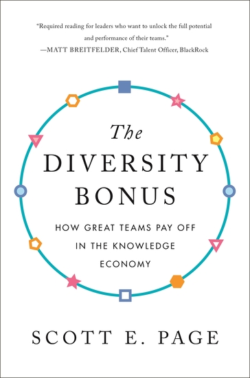 The Diversity Bonus - How Great Teams Pay Off in the Knowledge Economy - cover