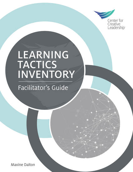 Learning Tactics Inventory: Facilitator's Guide - cover