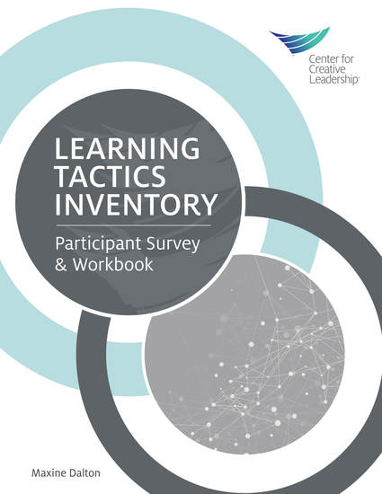 Learning Tactics Inventory: Participant Survey and Workbook - cover