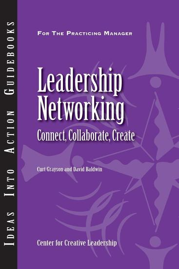 Leadership Networking: Connect Collaborate Create - cover