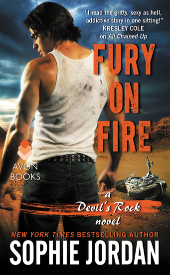 Fury on Fire - A Devil's Rock Novel - cover