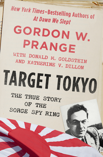 Target Tokyo - The Story of the Sorge Spy Ring - cover