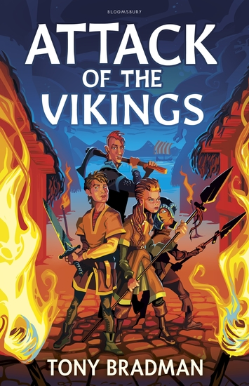 Attack of the Vikings - cover