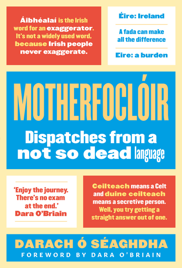 Motherfoclóir - Dispatches from a not so dead language - cover