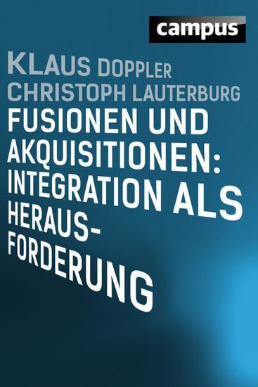 Fusionen und Akquisitionen: Integration als Herausforderung - cover