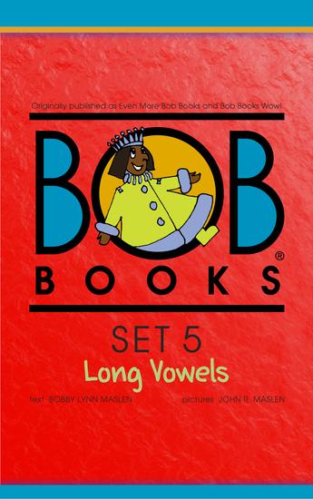 Bob Books Set 5: Long Vowels - cover