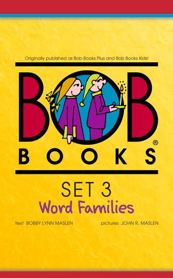 Bob Books Set 3: Word Families - cover