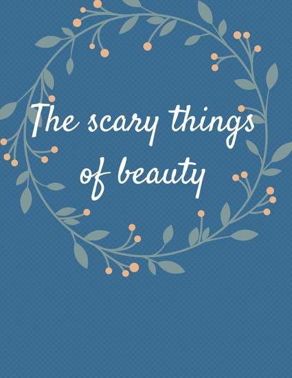 The scary things of beauty - cover