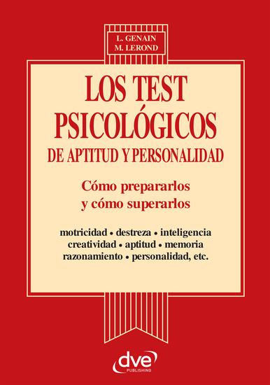 Los test psicologicos de aptitud y personalidad - cover