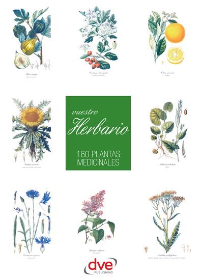 Vuestro herbario 160 plantas medicinales - cover