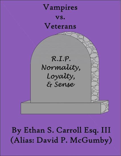 Vampires vs Veterans - cover