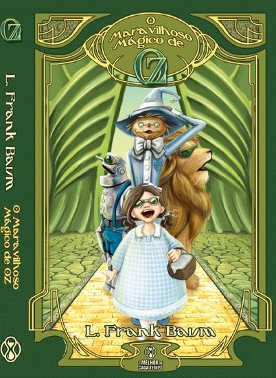 O maravilhoso mágico de Oz - cover