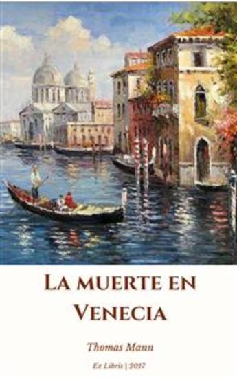 La muerte en Venecia - cover