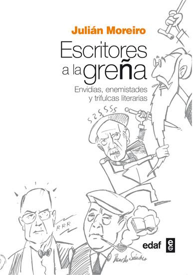 Escritores a la greña - cover