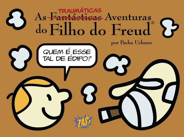 As Traumáticas Aventuras do Filho do Freud - cover